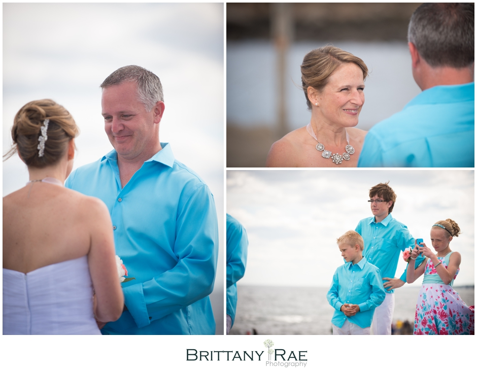 Nubble Lighthouse and York Beach Wedding by Brittany Rae Photography