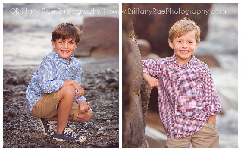 Beach Portraits in Biddeford Pool Family Photography - Brittany Rae Photography