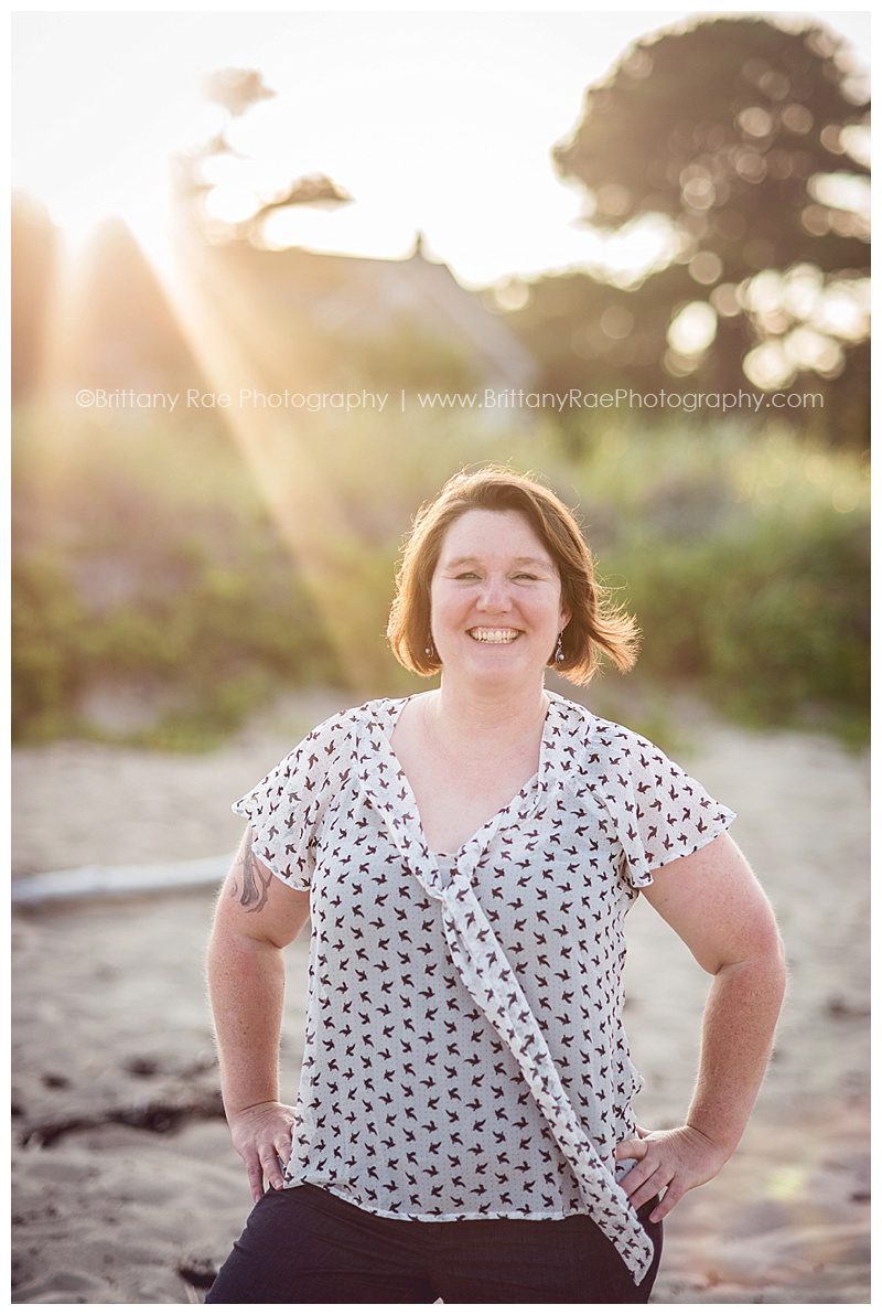 Southern Maine Beach Portrait Photographer Brittany Rae Photography