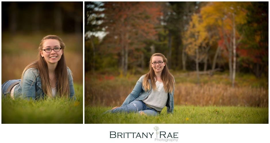 Kennebunk High School Senior Portraits by Brittany Rae Photography