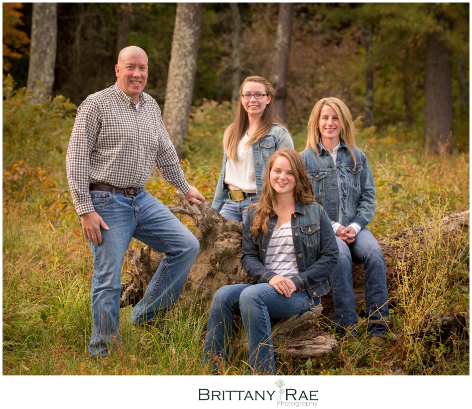 Kennebunk Family Portraits by Brittany Rae Photography