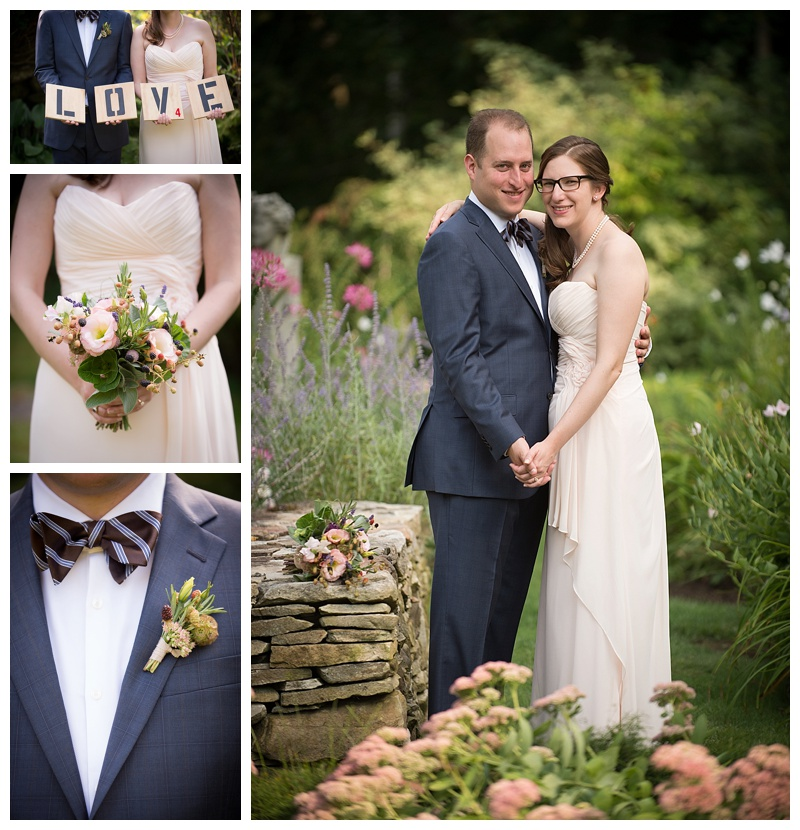 Farm to Table Wedding at Clarks Cove in Damariscotta Maine - Rustic Farm Wedding Details