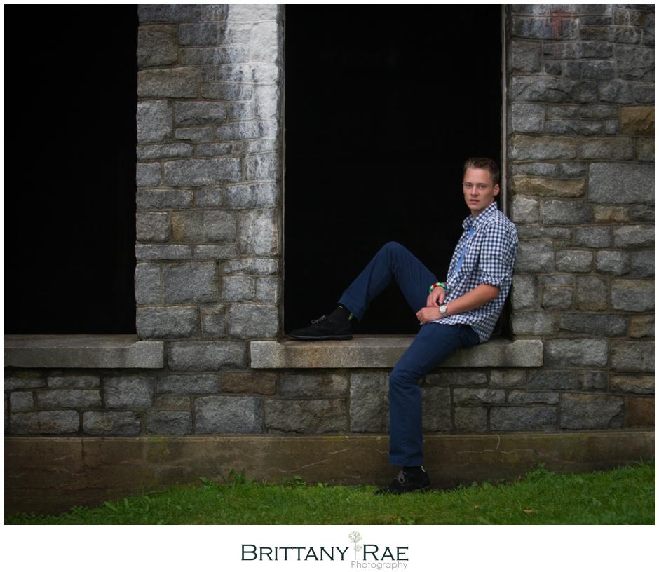 Cape Elizabeth maine high school senior boy portraits with Brittany Rae Photography