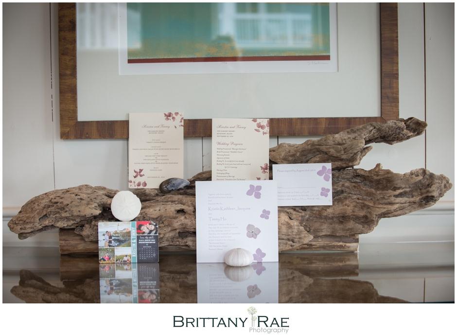 Purple wedding invitation by Samoset Resort Wedding Photographer, Brittany Rae Photography