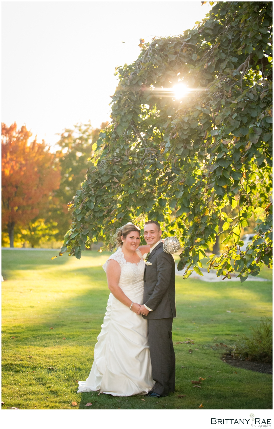 Bridal Portrait by Maine Wedding Photographer Brittany Rae Photography