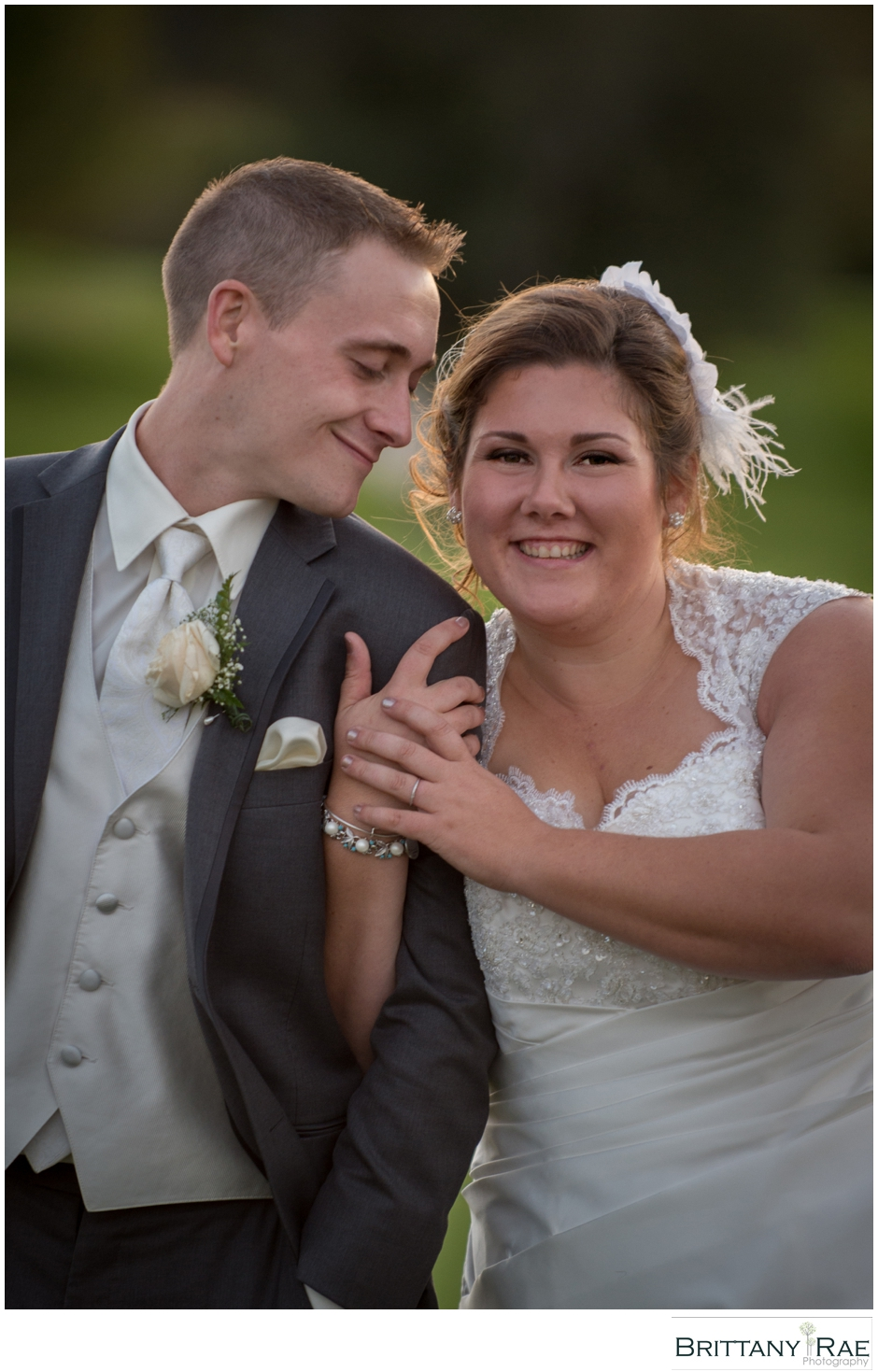 Wedding Portrait by Maine Wedding Photographer Brittany Rae Photography