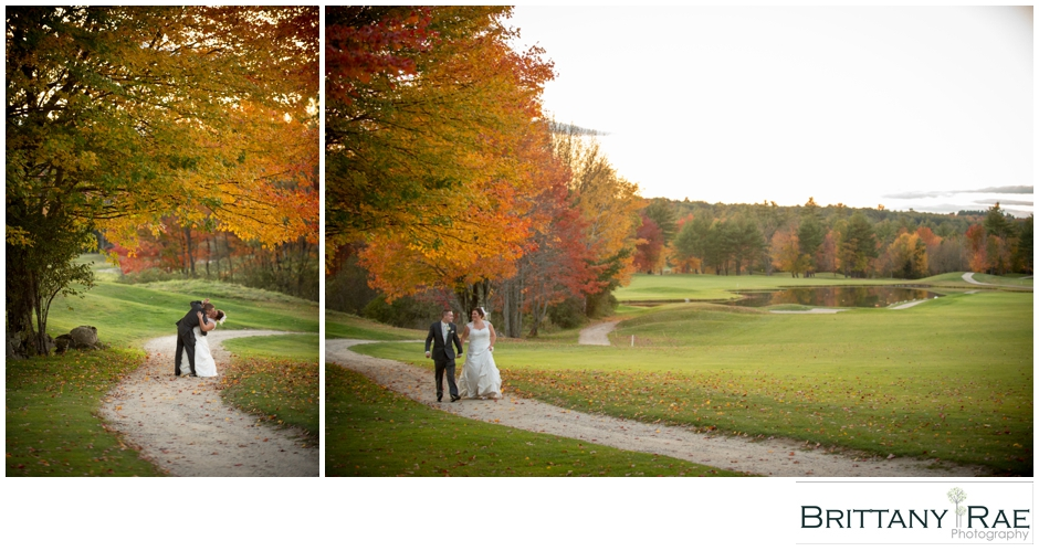 Fall Wedding Portraits by Maine Wedding Photographer Brittany Rae Photography