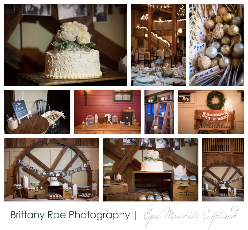 Winter Wedding at The Barn at Gibbet Hill Wedding by Brittany Rae Photography