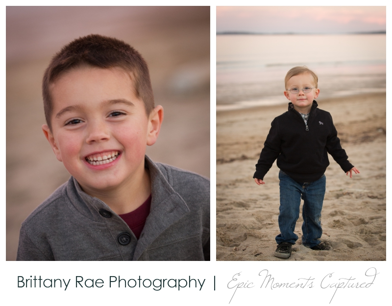 Beach Portraits by Maine Family Photographer Brittany Rae Photography