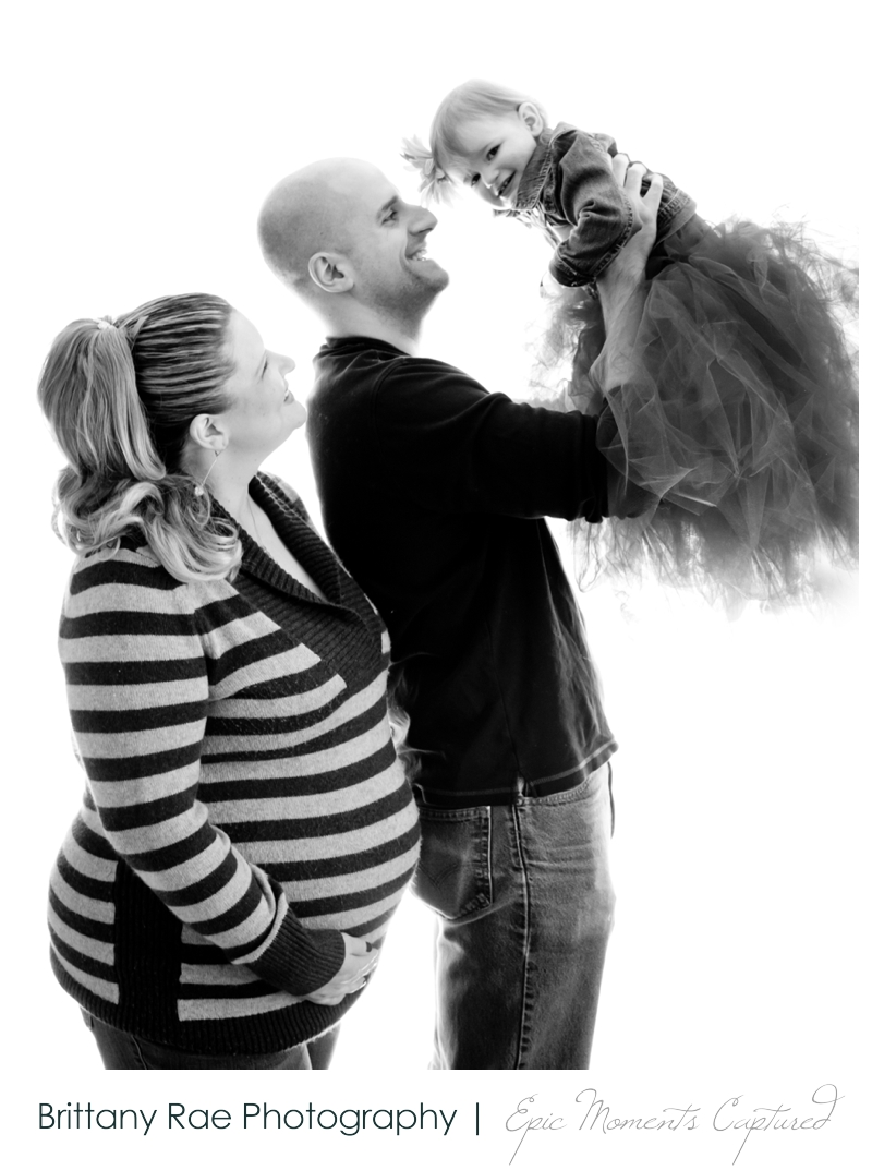 Winter Maternity Portraits by Maine Maternity Photographer Brittany Rae Photography