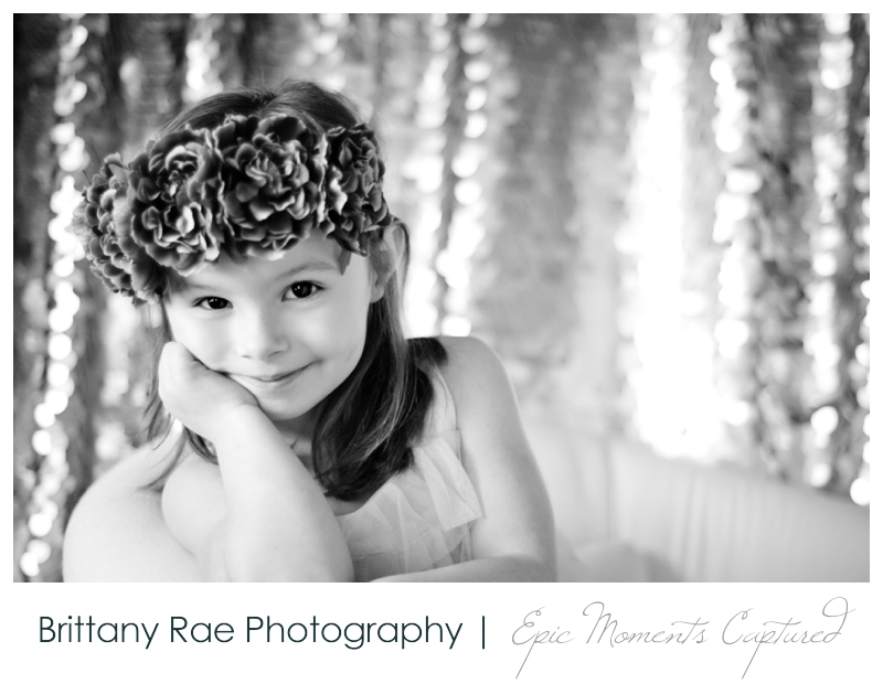 Little Ladies Glamorous Girls Portrait Photography by Brittany Rae Photography