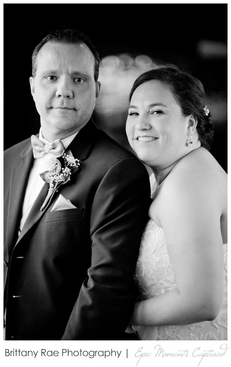 Dimillo's Floating Restaurant wedding photos - wedding portrait black and white