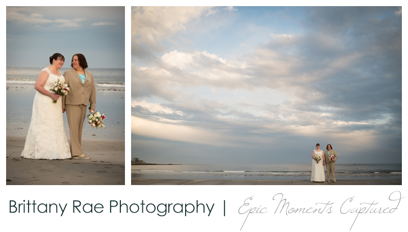 Kennebunkport Wedding | Pemaquid Light Wedding - beach wedding portraits