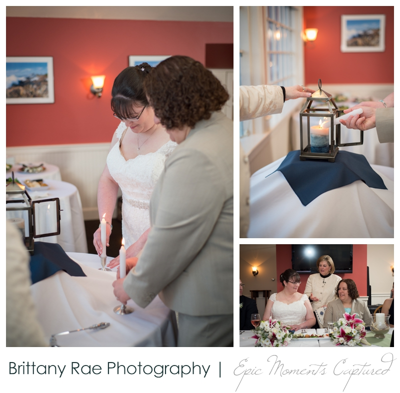 Kennebunkport Wedding | Pemaquid Light Wedding - unity candle