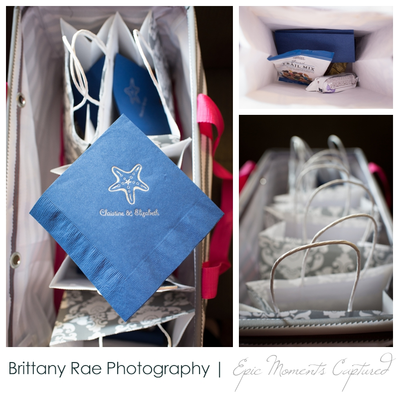 Kennebunkport Wedding | Pemaquid Light Wedding - Client Welcome bags