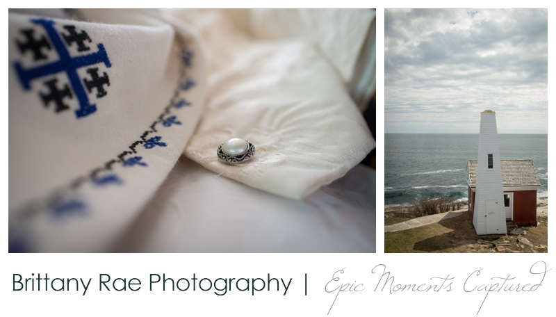 Kennebunkport Wedding | Pemaquid Light Wedding - Pemaquid Light and dress details