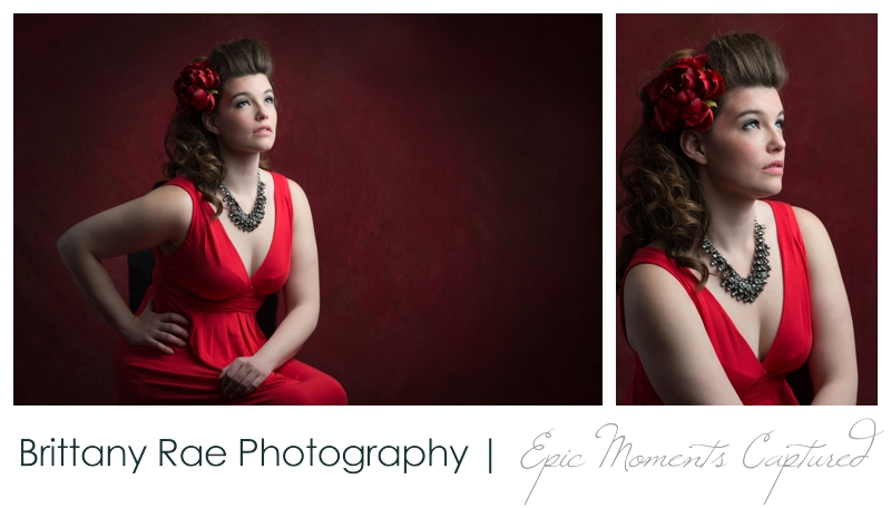Glamour and Boudoir Scarborough Maine Photos - Red Dress Glamour