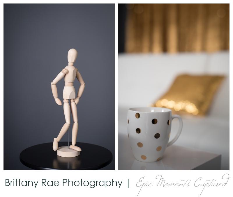 Scarborough Portrait Studio - Gold Details
