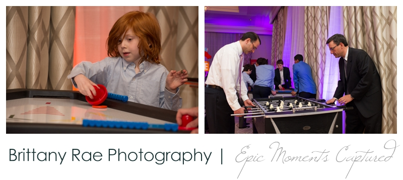 Belmont Country Club Bar Mitzvah - Fooseball and Air Hockey Games