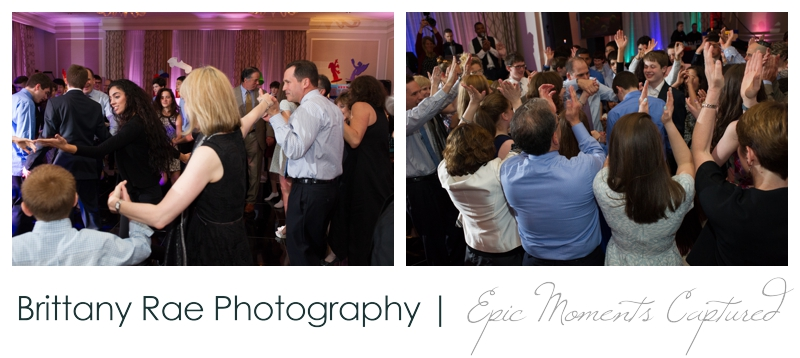 Belmont Country Club Bar Mitzvah - Dancing the hora