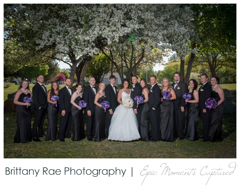 Sheraton Harborside Wedding in Portsmouth NH - Wedding Party