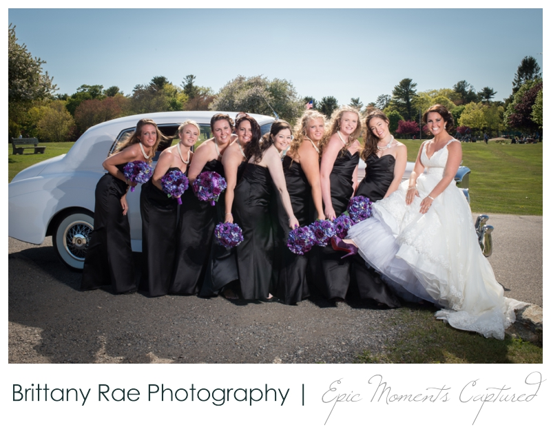 Sheraton Harborside Wedding in Portsmouth NH - Bride and Bridesmaid Shoes