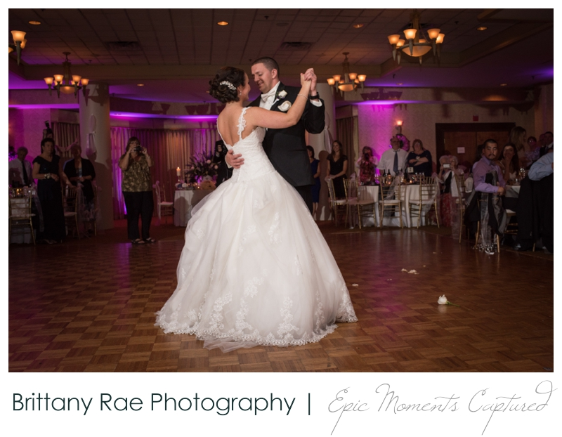 Sheraton Harborside Wedding in Portsmouth NH - Ballroom First Dance