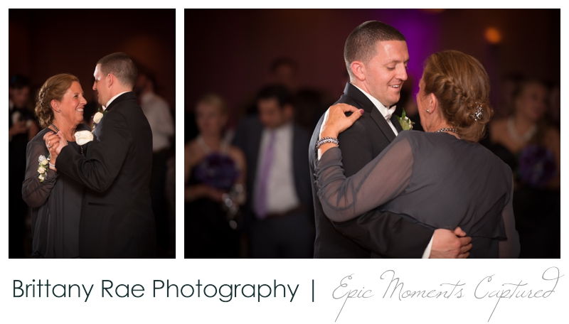 Sheraton Harborside Wedding in Portsmouth NH - Mother Son Dance