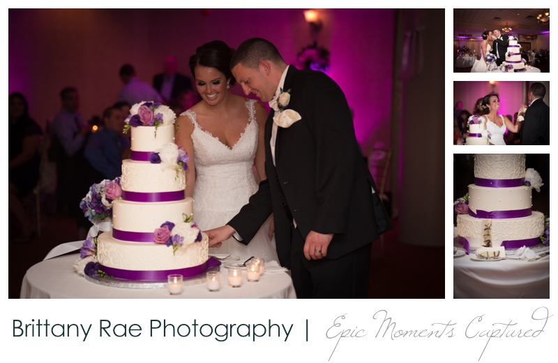 Sheraton Harborside Wedding in Portsmouth NH - Cake Cutting