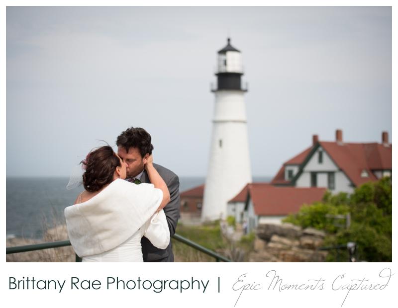 Portland Headlight wedding photos - wedding at lighthouse