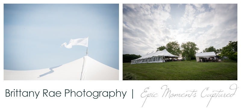 Zach's Farm Wedding Photos | York Maine - Tented Wedding