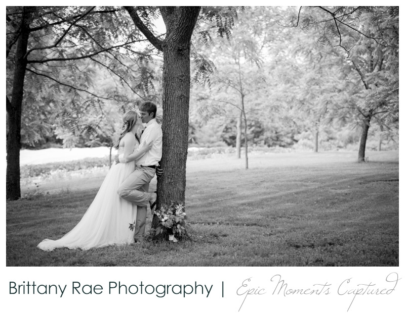 Zach's Farm Wedding Photos | York Maine - Black and White Wedding Portrait