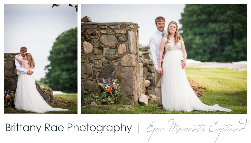 Zach's Farm Wedding Photos | York Maine - Farm Wedding Portraits