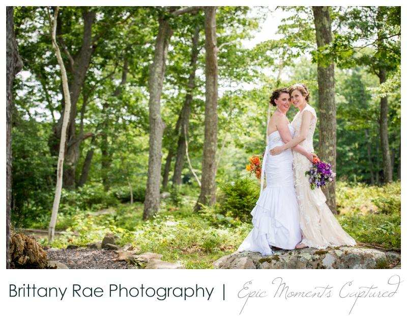 Purpoodock Wedding Photos Cape Elizabeth Maine - Two brides