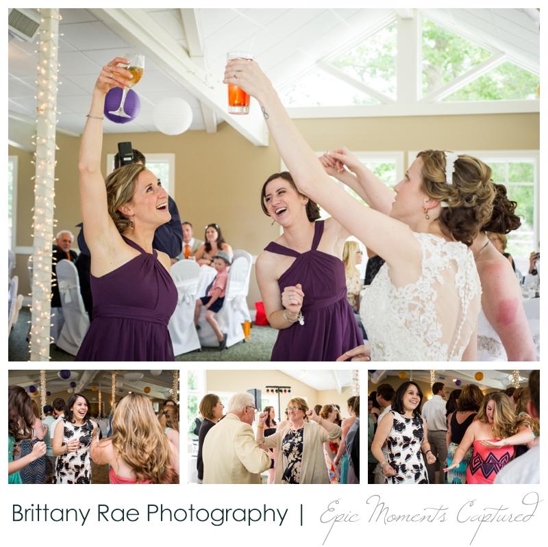 Purpoodock Wedding Photos Cape Elizabeth Maine - Reception fun