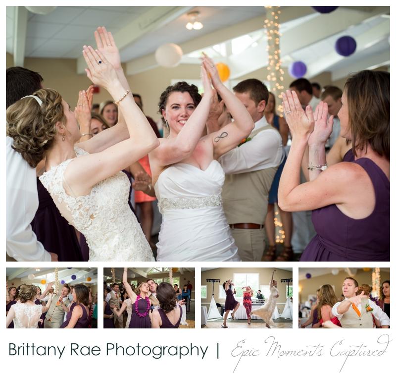 Purpoodock Wedding Photos Cape Elizabeth Maine - Reception dancing