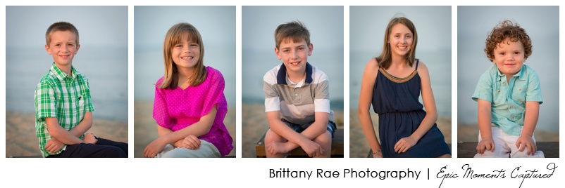 old Orchard Beach family photos - beach kids portraits