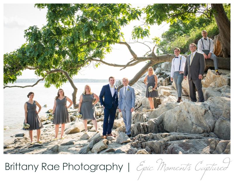 Inn on Peaks Island Wedding, Portland Maine - 19