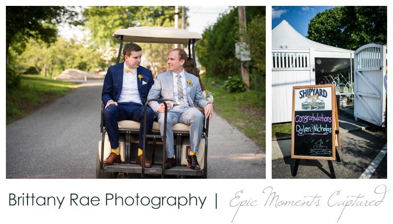 Inn on Peaks Island Wedding, Portland Maine - 22