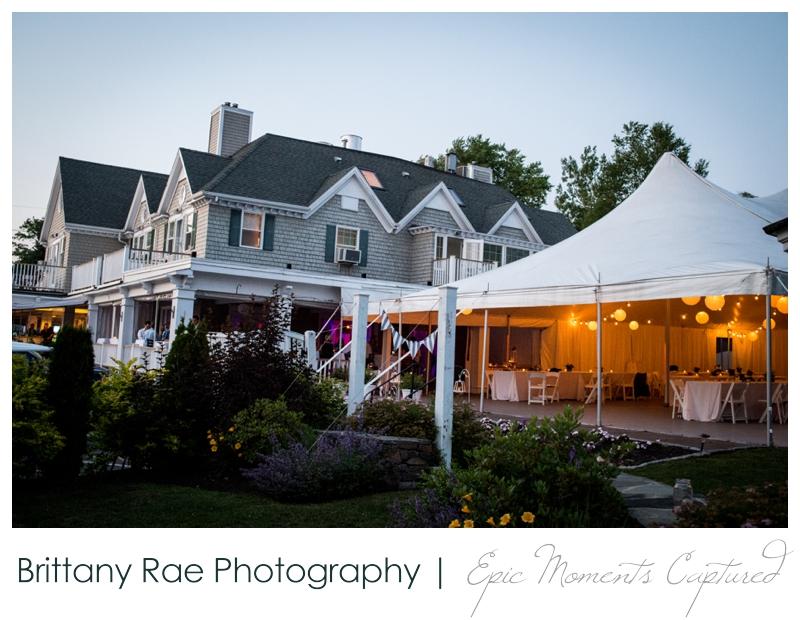 Inn on Peaks Island Wedding, Portland Maine - The Inn on Peaks Island
