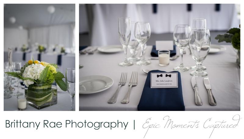 Inn on Peaks Island Wedding, Portland Maine - Navy wedding details