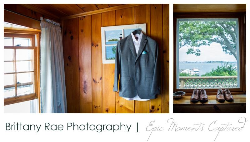 Harborview at Jones Landing Wedding, Peaks Island Maine - cottage at jones Landing