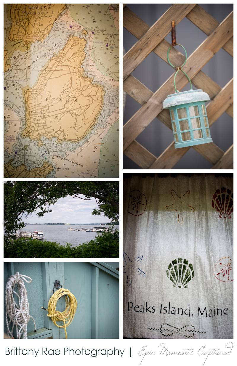 Harborview at Jones Landing Wedding, Peaks Island Maine - Peaks Island details
