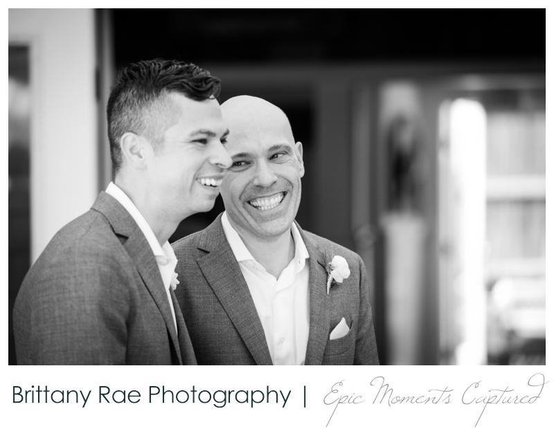 Harborview at Jones Landing Wedding, Peaks Island Maine - groom during speech