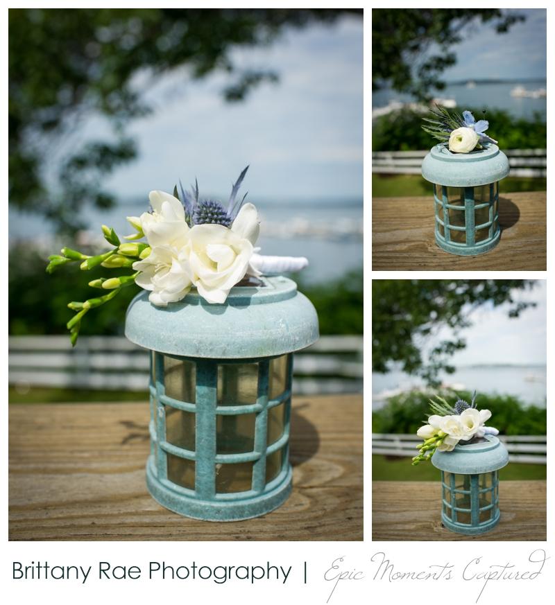 Harborview at Jones Landing Wedding, Peaks Island Maine - Boutineers