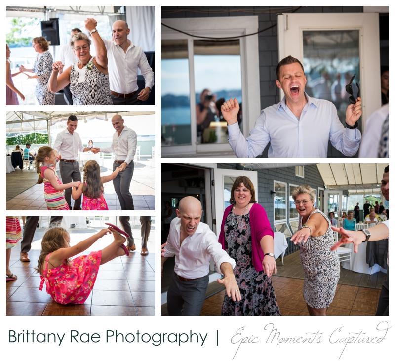 Harborview at Jones Landing Wedding, Peaks Island Maine - dancing on the deck
