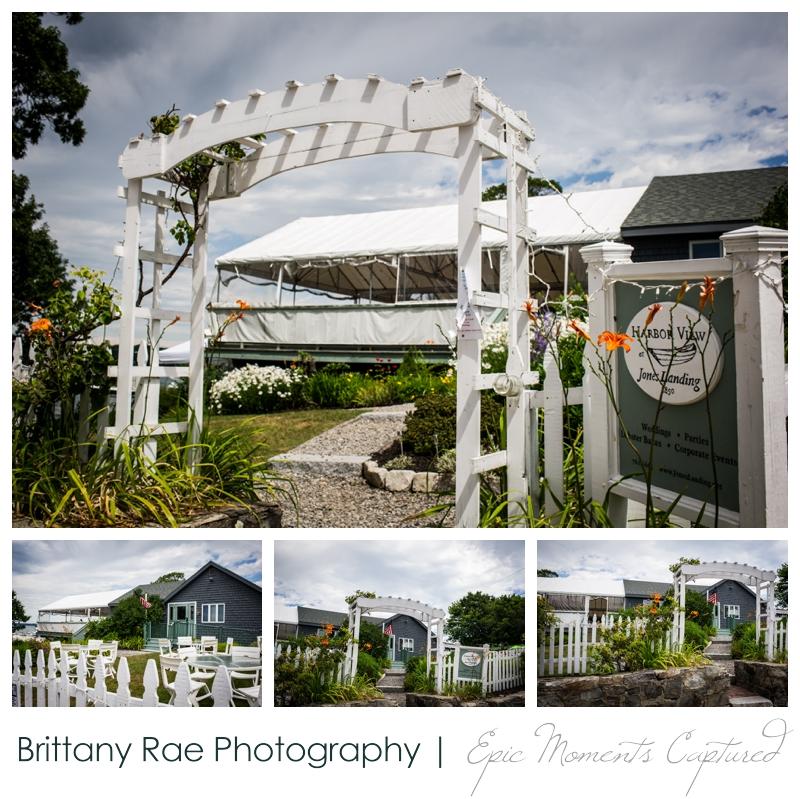 Harborview at Jones Landing Wedding, Peaks Island Maine - venue details