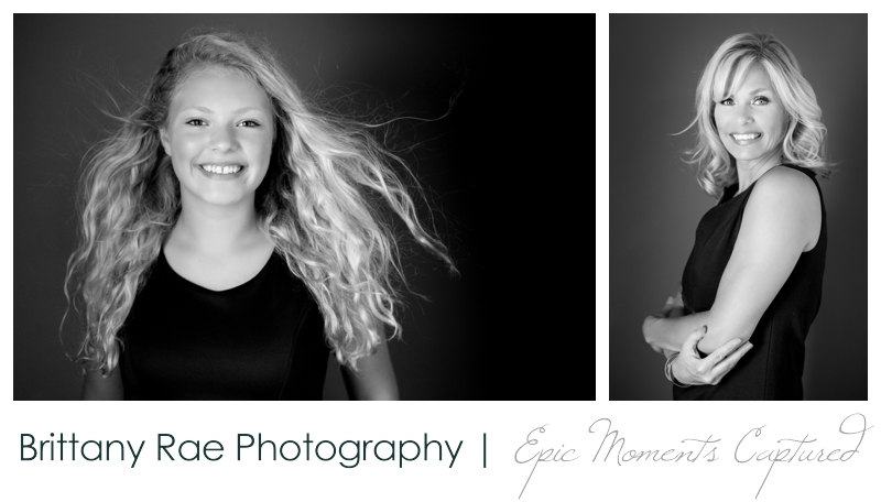 Mother and Daughter glamour portraits, Scarborough Maine - Teen glamour