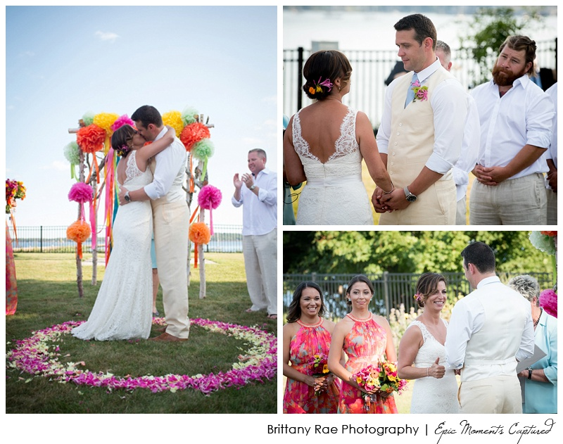 Seamiest Resort Wedding Rockland Maine - citrus wedding details