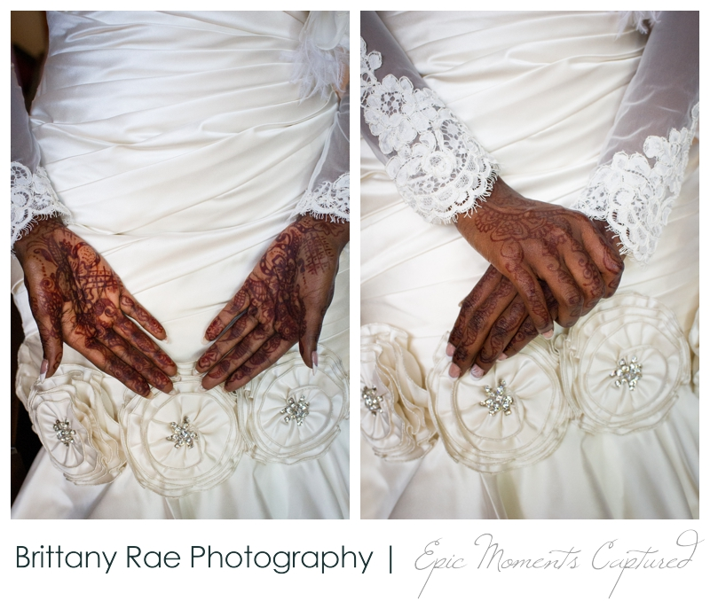Indian Head Resort Wedding Lincoln New Hampshire - Bride with Henna